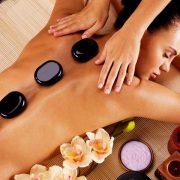 Get a hot stone massage at Massage Masters